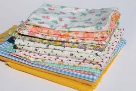 vintage prints & solid colors quilting fabric lot, cute tiny print ... & vintage prints & solid colors quilting fabric lot, cute tiny print &  gingham fabrics Adamdwight.com