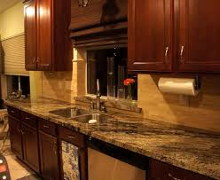 Kitchen Craft Cabinet Doors Kitchen Stone Backsplash Ideas With Dark Cabinets Subway Tile