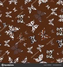 Krásný Barevný Motýl Hnědé Bílé černé Pozadí Vektor Obrázek Motýla