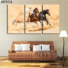 >wall art horses horse art horse decor watercolor horse painting wall  wall art horses large horse painting canvas print wall art 3 piece horses running decor printing wall art horses