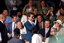 67'500 Zuschauer zugelassen - David Beckham, Tom Cruise, Kate Moss – diese  Promis sind beim Final im Wembley - 20 Minuten