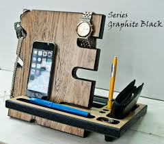 office decorating ideas for men. wooden stand desk accessories wood iphone dock apple watch station charger office decorating ideas for men i