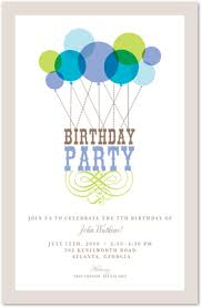 Balloon Birthday Invitations Blue Balloon Birthday Invitation Myexpression 29862