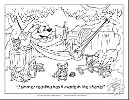 Small Picture Marvelous Summer Reading Coloring Sheets With Summertime Inside