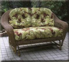 wicker replacement cushions. Simple Replacement Outdoor Replacement Cushions Resin Wicker Double Glider And Cushions O