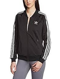adidas jacket women. adidas women\u0027s superstar track top jacket - black, size 32 women t