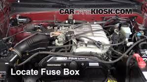 Replace a Fuse: 1995-2004 Toyota Tacoma - 2001 Toyota Tacoma DLX 3.4 ...