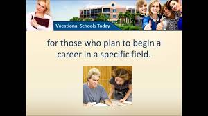vocational schools vocational schools
