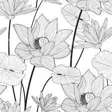 Lotus Pattern Cool Design Ideas