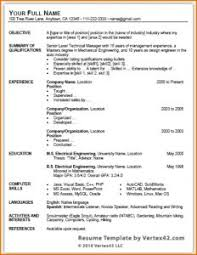 Brilliant Ideas Of Fascinating Microsoft Office Resume Format Best