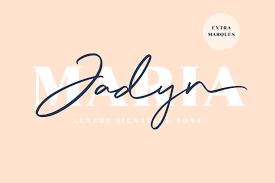 After this, you can open any text editor such as microsoft word, select. Jadyn Maria Font By Craftsupplyco Creative Fabrica Signature Fonts Luxury Font Free Fonts Download