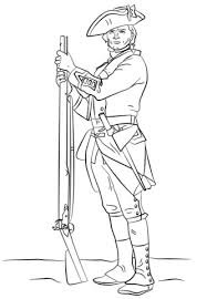 Soldier Coloring Sheet British Revolutionary War Soldier Coloring