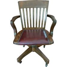 full size of chair vintage office beautiful jasper seating co solid wood leather banker desk of