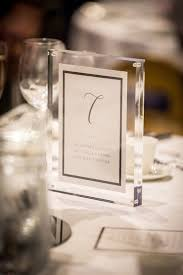 14x acrylic a5 magnetic frames table numbers wedding