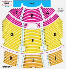 Beacon Theater Detailed Seating Chart Explicit Microsoft Theatre Seating Chart Dte Energy Seating