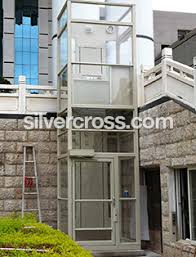 outdoor home elevators. v1504 wheelchair lift enclosed outdoor savaria | silvercross home elevators