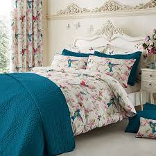 featuring colourful exotic birds on a soft fl and erfly pattern base in shades of c teal bedspreadvintage birdcageduvet cover setsteal