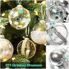 creative homemade christmas decorations. DIY Ideas \u0026 How To Decorate Clear Ornaments For Christmas Creative Homemade Decorations P