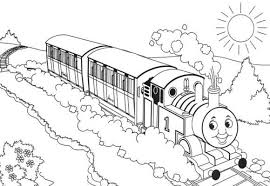 Thomas The Train Coloring Pages Free Cartoon Coloring Pages Of