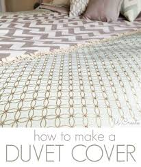 diy duvet covers create your own duvet cover easy sewing projects and no sew