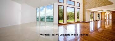 vitrified tiles vs laminate wood flooring