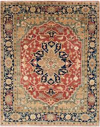 hertiage unlimited rugs luxury serapi heritage hand knotted copper area rug s