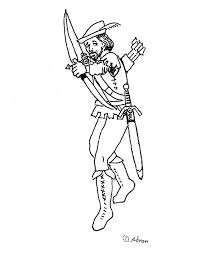Small Picture Coloring Pages for Kids by Mr Adron Free Robin Hood Coloring
