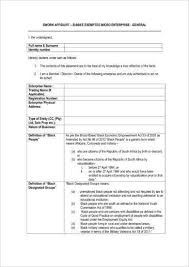 Affidavit Statement Of Facts Delectable 48 Sworn Affidavit Form Examples PDF