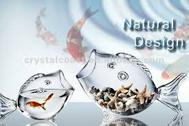 Decorative Glass Jars Wholesale Wholesale Decorative Glass Jars Fish Shape Figurines Goldfish Jar 68