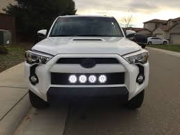 Round Led Lights Behind Mesh Grill Toyota 4runner Toyota