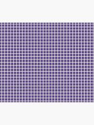 Ultra Violet Purple Lined Graph Paper Pantone Color Of The Year 2018 Metal Print