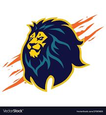 Design Logo From Scratch Lion Head Logo Mascot Design Claw Scratch
