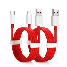 Shop <b>2pcs 4A Fast</b> Charging Data Transfer Cable for Oneplus 7 Pro ...