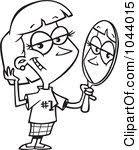 mirror clipart black and white. mirror clip art black and white clipart