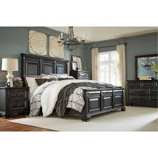 traditional furniture traditional black bedroom. black traditional 6piece king bedroom set passages furniture u