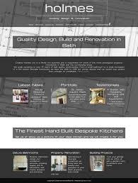 Web Design For Builders Website Design For Builders Blue Web Professional Website