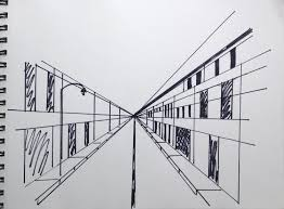 perspective drawings of buildings. But What If We Want To Add Something Like A Streetlight That\u0027s On Slightly Different Plane Than The Buildings? Easy, You Draw One Right Size. Perspective Drawings Of Buildings N