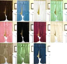 curtains with valance attached double swag shower curtain attached valance curtains with valance attached uk