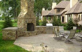 patio stone fireplace designs paver with barkman living room