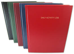 Daily Activity Log Book 365 Day Log Book 365 Page Diary 384