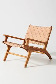 ra leather loomed chair outdoor