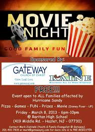 Movie Flyer Family Fun Night Flyer Template Siudynet 9