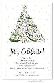 Images Of Christmas Invitations Abstract Christmas Tree Holiday Invitations