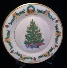2017 Lenox Trees Around The World Australia Plate  Sterling Lenox Christmas Tree Plates