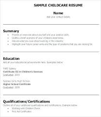 Child Care Resume Sample Impressive Child Care Assistant Cv Sample Resume Examples And Cover Letter