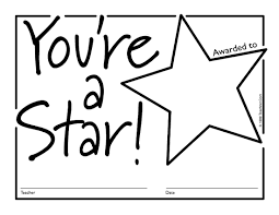 Name A Star Certificate Template Interesting Free Downloadable PDF Certificates Awards Teachnet