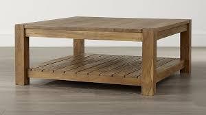 crate and barrel furniture reviews. Edgewood Square Coffee Table In Tables + Reviews | Crate And Barrel Furniture