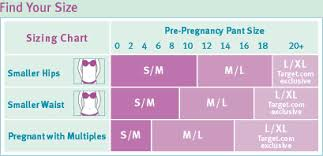 Maternity Jean Size Chart Beband Maternity Band Baby Bath Blog Event Review