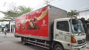 MCM Dự án quảng cáo trên xe tải của Bánh Kẹo Phạm Nguyên