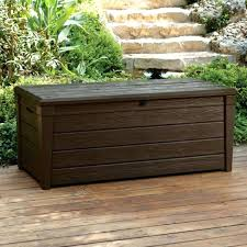 Costco Deck Box Boxes Fascinating Gallon For Storage And Sitting Large